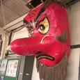沼田駅の天狗