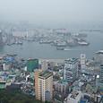 釜山タワーからの眺め