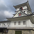 人吉駅と城
