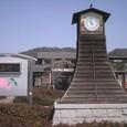 矢掛駅前・時計塔