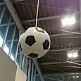 飛田給のサッカーボール